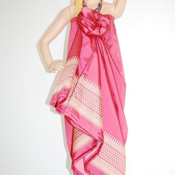 Dresses | Malongsarong Floral Gown | Poshmark